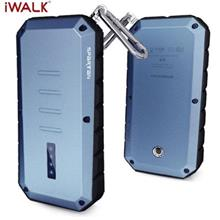 IWALK T13 13000MAH OUTDOOR THREE ANTI UNIVERSAL MOBILE PHONE POWER BANK WITH I