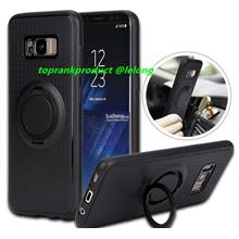 Samsung Galaxy S8 S8+ Plus Magnet TPU Ring Stand Case Cover Casing