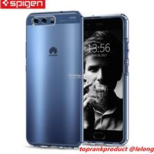 Original Spigen Huawei P10 Liquid Crystal Soft Clear Case Cover Casing