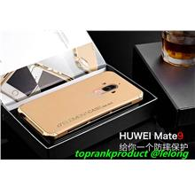 Ready Stock@ Huawei Mate 9 Metal + Matte Hard Back Aromor Case Cover