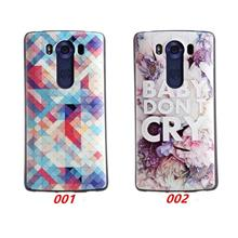 Ready Stock@ LG G4 Pro V10 3D Relief Silicone Case Cover Casing