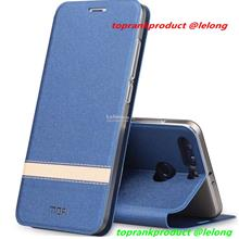 Mofi Huawei Honor 9 Lite Flip PU Leather Stand Case Cover Casing