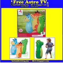 Jilong Inflatable bag 3D Animal air toy Kid Baby child mainan budak bb