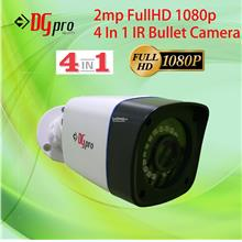 2MP 1080p Full HD 4in1 CVI/AHD/TVI/CVBS IR Bullet CCTV Camera