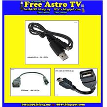 Micro USB OTG Cable Data 4 Android tv box Phone Samsung HTC Nokia Sony