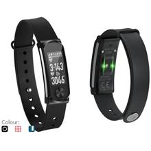 Q-BAND HR+ HEART RATE SMART FITNESS BAND (Q-68HR)BLACK