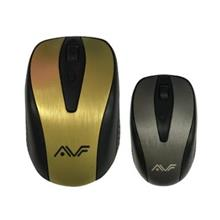 AVF GEOM1 2.4G Wireless Optical Mouse USB - Gold (am-2g)