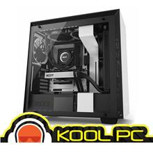 * NZXT H Series H700i ATX Casing | WHITE + BLACK