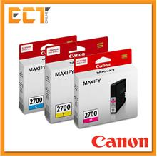 Canon Pigment Ink Tank PGI-2700C/M/Y Black Printer Ink Cartridge