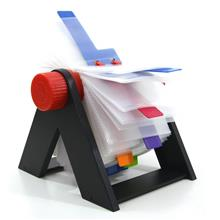 Bindermax Rotary Name Card Holder File Book Collect Display