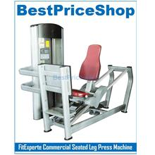 FitExperte Commercial Seated Leg Press Machine Thigh Extension Fitness