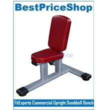 FitExperte Commercial Upright Dumbbell Bench Sit Up Muscle Workout Gym