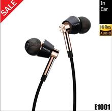 1MORE E1001 Triple Driver In-Ear Headphones Black Gold
