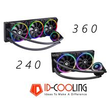 # ID-COOLING Zoomflow 240 RGB AIO CPU Liquid Cooler #