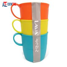 Cup/Mug Plastic Colourful Bpa Free (3pcs)