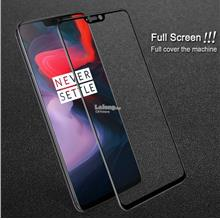 ONEPLUS 6 FULLGLUE Imak 9H Hardness Pro+ Coverage Tempered Glass