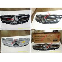 Mercedes Benz SL R230 `02-07 Front Grille SL Style [Facelift Style]