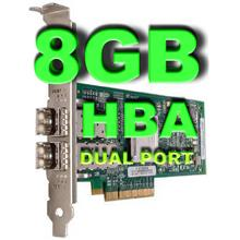 QLOGIC 8GB HBA  QLE2562 DUAL PORT PCIE ADAPTER
