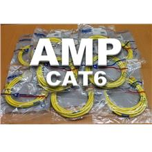 AMP CAT 6 GIGALINK NETWORK CABLE (10 FEET)
