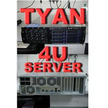 TYAN 4U RACK SERVER ,S4985G3NR M/B ,4 AMD 8220SE CPU ,4 POWER
