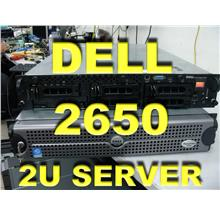 DELL POWEREDGE 2650 2U SERVER( XEON , 73GB SCSI,1GB RAM )