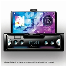 Pioneer SPH-C10BT Single DIN Smartphone Receiver with Integrated Cradl