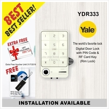 YALE YDR 333 DIGITAL RIM DOOR LOCK