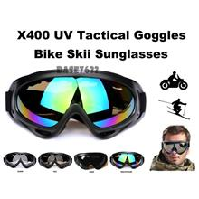 X400 Motorcycle Wind Visor Skii Safety Protection Goggles Sunglasses