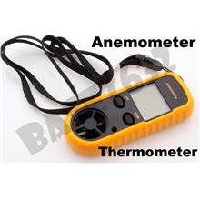 46% Off  Dgital Anemometer Wind Speed Guage Measure Meter Thermometer