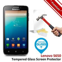 Premium Protection Lenovo S650 Tempered Glass Screen Protector