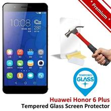 Premium Protection Huawei Honor 6 Plus Tempered Glass Screen Protector