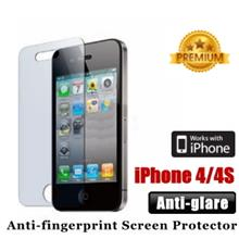 Premium Anti-glare iPhone 4 4S Screen Protector - Matte