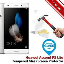Premium Protection Huawei P8 Lite Tempered Glass Screen Protector