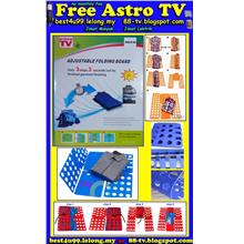 As Seen On Tv Adjustable Clothes Folding Board Magic Fast Speed Kain $
