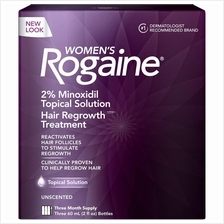 Rogaine 2% For Women Hair Regrowth Treatment Liquid (Ready Stock)