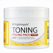 NIGHTINGALE Toning Peeling Pads Honey 50s