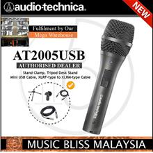 Audio-Technica AT2005USB Cardioid Dynamic USB/XLR Mic (AT2005 USB)