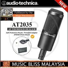 Audio Technica AT2035 Cardioid Condenser Mic (AT-2035) *0% SST Sales*