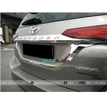 Toyota Fortuner (2nd Gen) Rear Plate Lower Chrome Lining