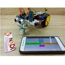 DIY 2WD Arduino Kit Mobile Robot Apps Arduino Uno Bluetooth L298N