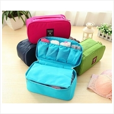 Waterproof Travel Pouch for Underwear Bras Toiletries Bag Cosmetic Bag
