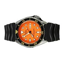 SEIKO Men Automatic Diver Rubber Strap Watch SKX011J1Y