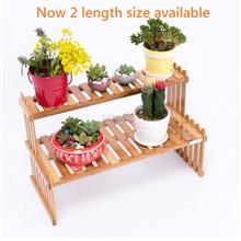 Wooden Office Table Mini Flower Rack, DIY Wood Shelf, Pots Shelve