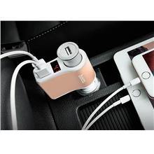 HOCO IN-CAR CHARGER WITH CIGARETTE SLOT DIGITAL DISPLAY (Z10)
