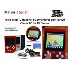 Retro Mini TV Handheld Game Player 400 in 1 Classic FC Gameboy