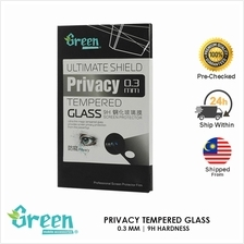 ASUS ZENFONE 5 T00J ULTIMATE SHIELD GREEN TEMPERED GLASS PRIVACY 0 3MM  CURVE S