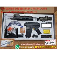 LELONG-TOY GUN WATER BUBBLE BABY CRYSTAL AEG SENAPANG NERF-RPT
