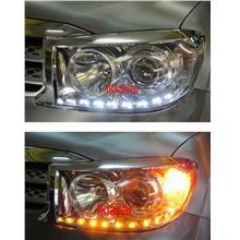 Toyota Fortuner '10 2-Function DRL R8 [NO Head Lamp]