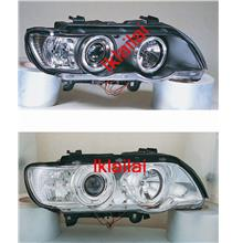 SONAR BMW X5 E53 Projector Head Lamp With Ring