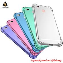 Xiaomi Redmi 4A 4X Transparent Back Armor TPU Case Cover Casing